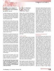 Vie pédagogique no 137 - Ministère de l'Éducation, du Loisir et du ...
