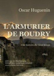 L'ARMURIER DE BOUDRY - Bibliothèque numérique romande