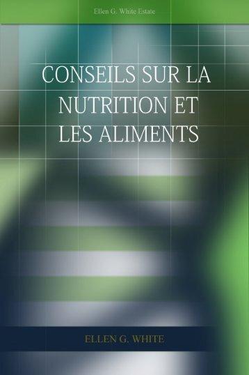 Conseils sur la Nutrition et les Aliments - Eglise Adventiste Eden de ...