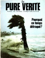 Pure Verite 1983 (No 04) Avr - Herbert W. Armstrong Library and ...