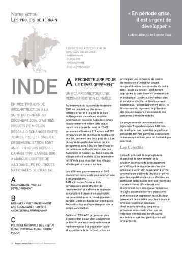 « En période grise, il est urgent de développer » - Architecture et ...