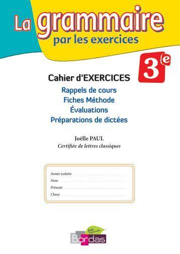 la grammaire par les exercices 3eme nouvelle edition.pdf - Webnode
