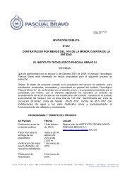 invitación pública n°012 contratacion por menos del 10% de la ...