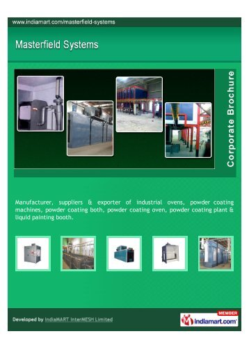Manufacturer, suppliers & exporter of industrial ovens ... - Imimg