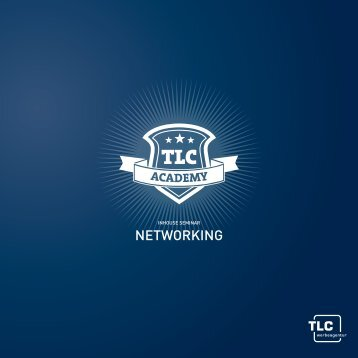 Flyer Inhouse Seminar Networking - tlc communications GmbH & Co ...