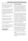 Instructions d'utilisation Du tiroir chauffe-plat encastrable ... - Miele - Page 3