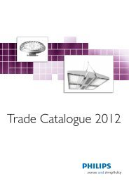 Trade Catalogue 2012 - Philips