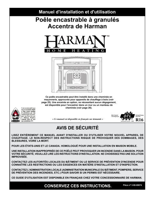 po le encastrable granul s accentra de harman forge. Black Bedroom Furniture Sets. Home Design Ideas