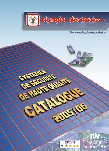 eclairage de securite - Olympia-electronics