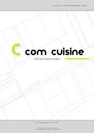 Collection cuisines et salles de bain 2012 - C com cuisine