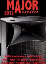 Notre catalogue - major-audio