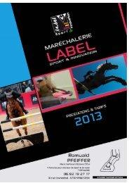 Document à télécharger : Catalogue 2013 - Label Sport & Innovation