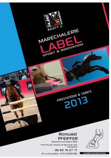 Document à télécharger : Catalogue 2013 - Label Sport & Innovation