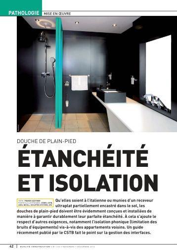 une douche de plain pied gedimat michel. Black Bedroom Furniture Sets. Home Design Ideas