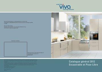 Catalogue général 2012 Encastrable et Pose-Libre - viva