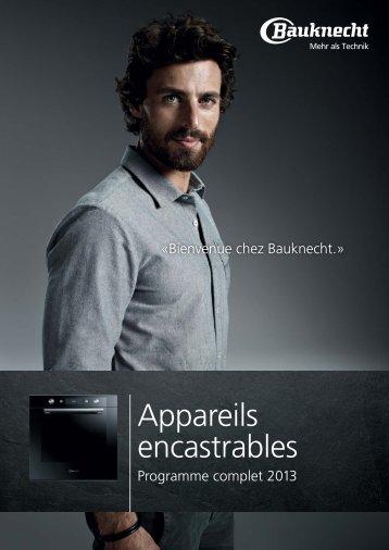 Appareils encastrables - Bauknecht