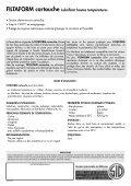 FILTAFORM Cartouche - Page 2