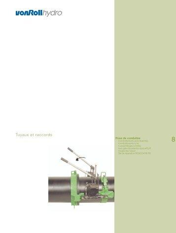 Tuyaux et raccords - vonRoll hydro