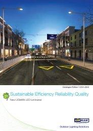 Ligman 2012 LED Catalogue - Jadecross