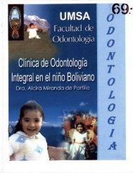 clinica de odontologia integral del niño - Bibliotecas Digitales
