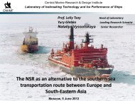 Northern Sea Route as an Alternative to Southern Option of Sea ...