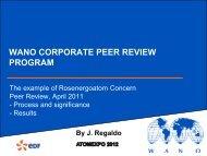 wano corporate peer review program