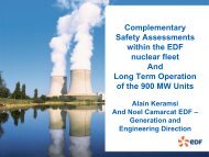 Results of Operation of French NPP in the post-Fukushima Period