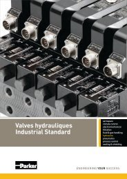 Valves hydrauliques Industrial Standard