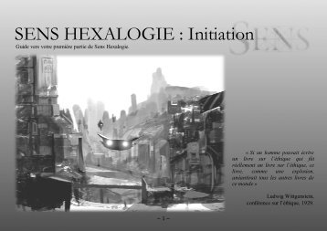 SENS HEXALOGIE : Initiation - silentdrift.net