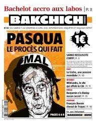 Bakchich Hebdo 20 - 1
