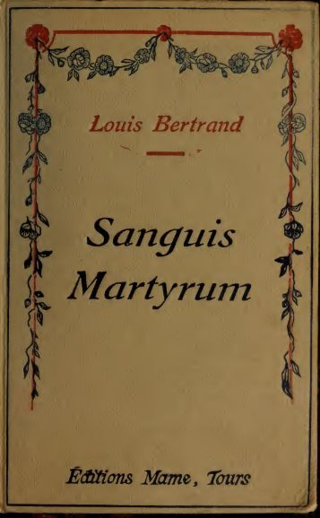Sanguis martyrum - Index of
