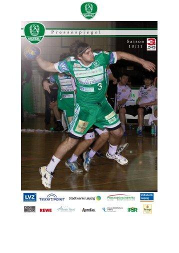 Pressespiegel 22.03.-28.03. - SC DHfK Handball