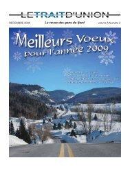 Volume 5 no 2 - Municipalité de Petit-Saguenay