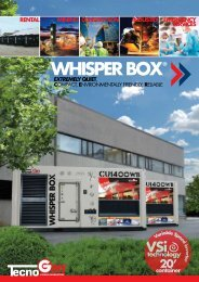 WHISPER BOX ® - Tecnogen Spa
