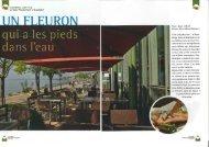Plaisirs, Gastronomie & Voyages, août 2011 - Beau-Rivage Hotel
