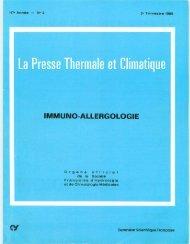 Télécharger - La Société française de médecine thermale