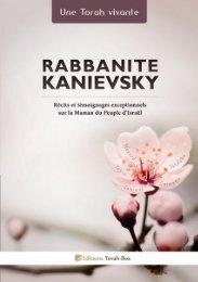 Rabbanite Kanievsky - Torah-Box.com