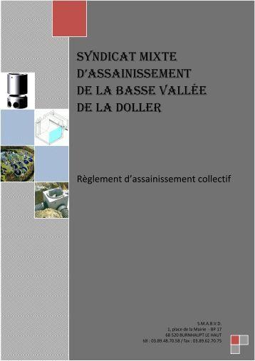 Réglement d'assainissement collectif - Burnhaupt-le-Haut (68)