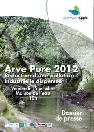 Contrat « Arve Pure 2012 - Accueil