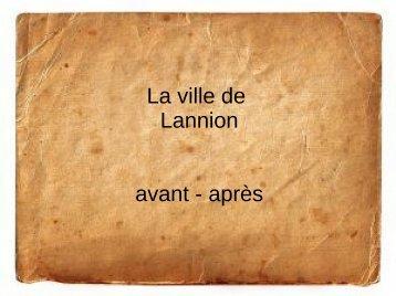 L'histoire de Lannion - Archives départementales des Côtes d'Armor