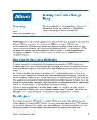 Making Electronics Design Easy - Altium