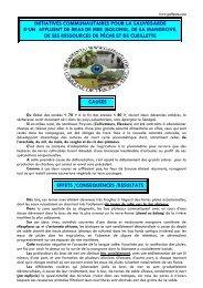 initiatives communautaires pour la sauvegarde d'un bras de mer