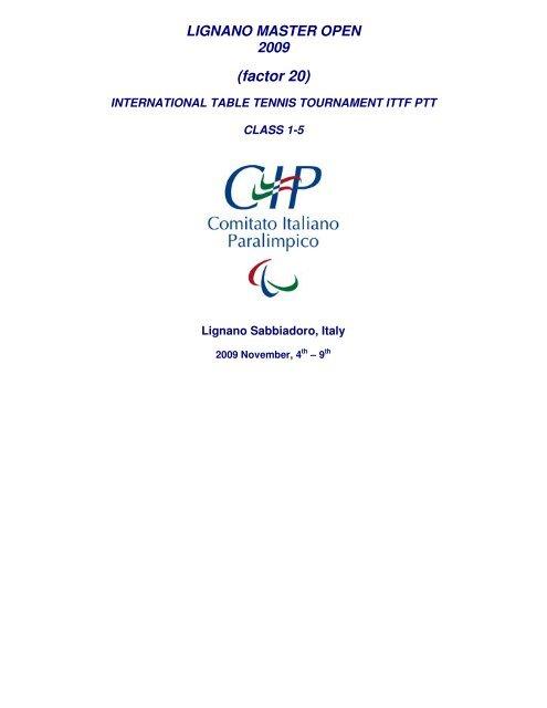 Invitation Ittf Para Table Tennis