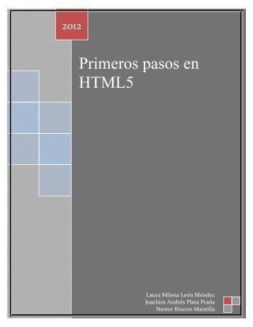 Presentacion HTML5 -------(Joachin, Laura, Nestor)