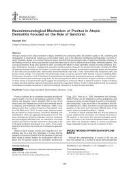 Neuroimmunological Mechanism of Pruritus in Atopic Dermatitis ...