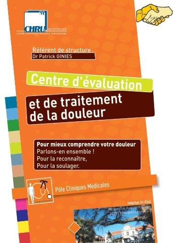 mieux comprendre votre douleur - CHU Montpellier
