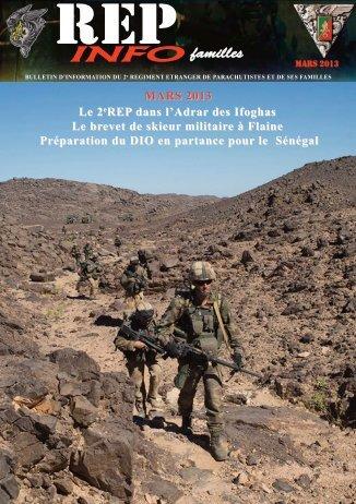 REP INFO - 2e Régiment étranger de parachutistes - Légion étrangère