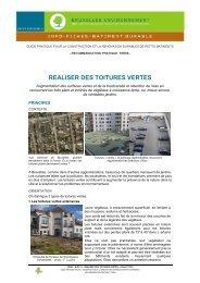 TER06 - Réaliser des toitures verte - Bruxelles Environnement