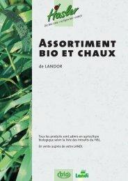 Bio- und Kalksortiment 07 - Landor