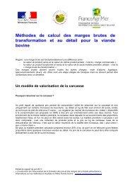 Méthode Viande bovine - L'observatoire de la formation des prix et ...